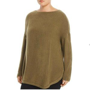 ONE A 2X Burnt Olive Green Sweater BS47